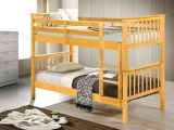Wooden Bunk Bed with Foam Only Mattress